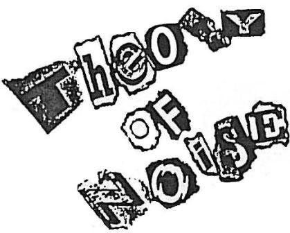 theory of noise logo
